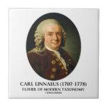 Carl Linnaeus Father Of Modern Taxonomy Tiles
