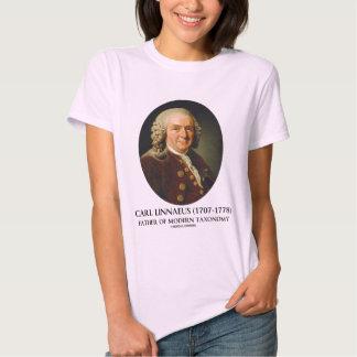 Carl Linnaeus Father Of Modern Taxonomy Tshirts