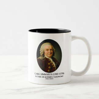 Carl Linnaeus Father Of Modern Taxonomy Two-Tone Coffee Mug
