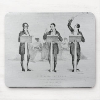 Carl Maria von Weber  at Covent Garden Theatre Mouse Pad