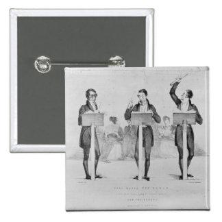 Carl Maria von Weber  at Covent Garden Theatre Pinback Button