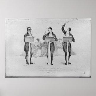 Carl Maria von Weber  at Covent Garden Theatre Poster