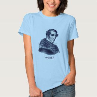 Carl Maria von Weber, azul Camisas