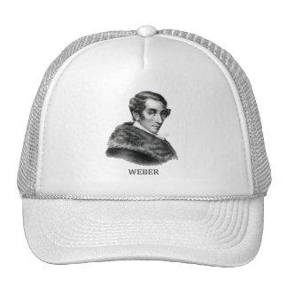 Carl Maria von Weber, black Trucker Hat