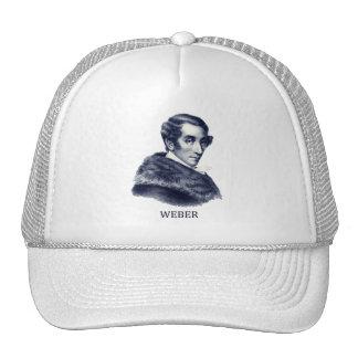Carl Maria von Weber, blue Trucker Hat