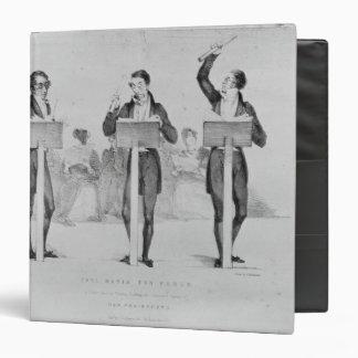 """Carl Maria von Weber en el teatro del jardín de Carpeta 1 1/2"""""""