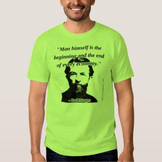 Carl Menger - Man and Economy T Shirt