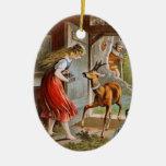Carl Offterdinger: Little Brother & Little Sister Ornaments
