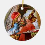 Carl Offterdinger: Little Red-Cap Christmas Tree Ornaments
