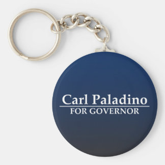 Carl Paladino para el gobernador Llaveros Personalizados