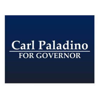 Carl Paladino para el gobernador Postal