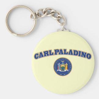 Carl Paladino para Nueva York Llavero Redondo Tipo Pin