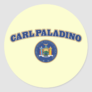 Carl Paladino para Nueva York Pegatina Redonda