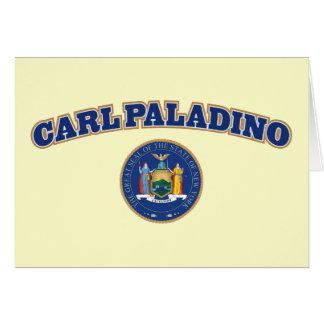 Carl Paladino para Nueva York Tarjeta De Felicitación