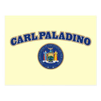 Carl Paladino para Nueva York Tarjeta Postal