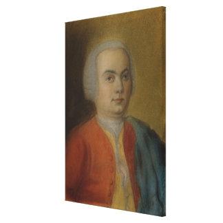 Carl Philipp Emanuel Bach, c.1733 Canvas Print