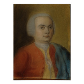 Carl Philipp Emanuel Bach, c.1733 Poster