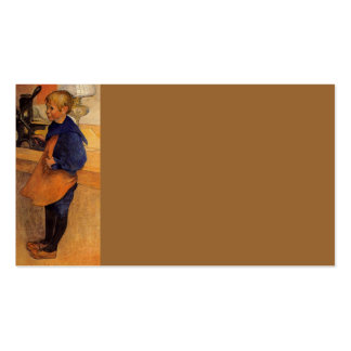Carl Pontus Wearing Apron and Clogs Double-Sided Standard Business Cards (Pack Of 100)