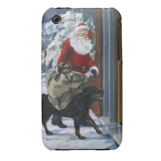 Carl que ayuda a Papá Noel de <Carl's Christmas> b iPhone 3 Case-Mate Cobertura