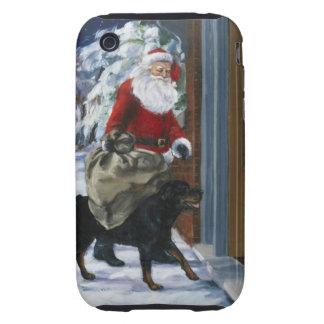 Carl que ayuda a Papá Noel de <Carl's Christmas> b iPhone 3 Tough Coberturas