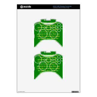 carl rogers quote xbox 360 controller skins