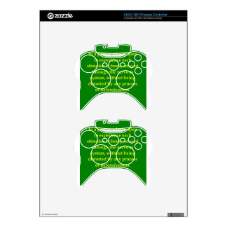 carl rogers quote xbox 360 controller decal