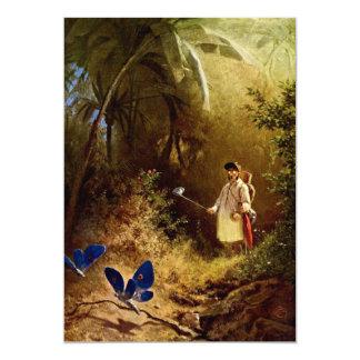 Carl Spitzweg - The Butterfly Hunter Card