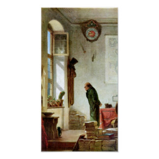 Carl Spitzweg - The Cactus Enthusiast Posters