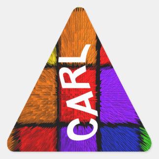 CARL TRIANGLE STICKER