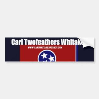 Carl Whitaker Tennessee Bumper Sticker