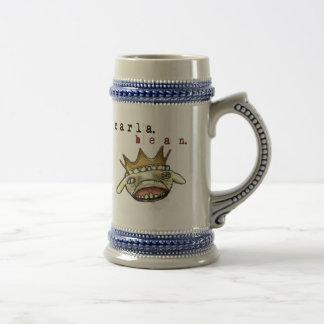 Carla Bean Lamb 18 Oz Beer Stein
