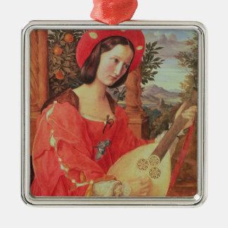 Carla Bianca von Quandt, c.1820 (oil on canvas) Metal Ornament