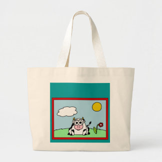 Carla Cow Tote Bag