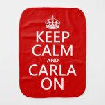 Carla encendido paños para bebé