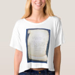 Carla Laemmle's words to live by T Shirt