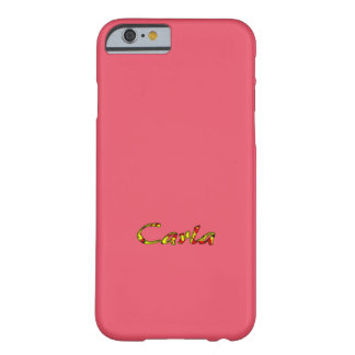 Carla Soft Pink case for iPhone
