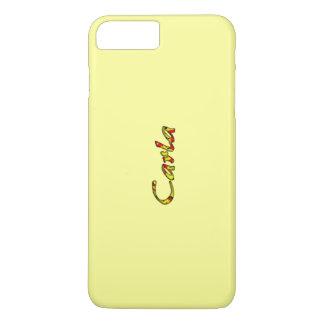 Carla Soft Yellow iPhone 7 Plus case