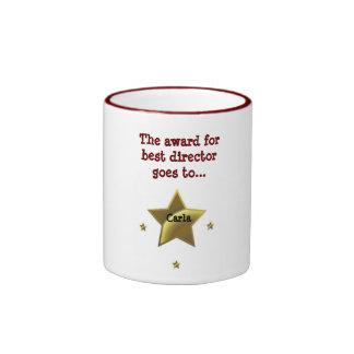 CARLA: The Award For Best Director Ringer Coffee Mug