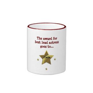 CARLA The Award For Best Lead Actress Coffee Mug