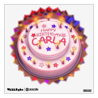 Carla's Birthday Cake Wall Skin
