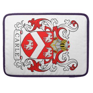Carle Coat of Arms II Sleeve For MacBooks
