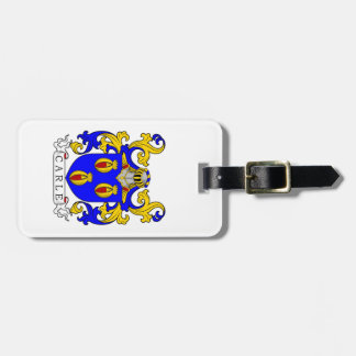 Carle Coat of Arms Tag For Bags