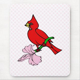 Carleen Cardinal Mouse Pad