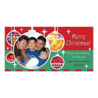 Carleen Montero Family Christmas Photocard Card
