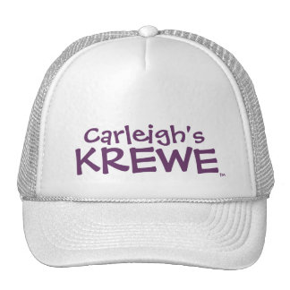Carleigh's Krewe Text Hat