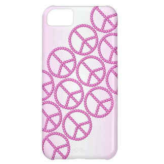 Carleigh's Pink Peace Bling iPhone case Case For iPhone 5C