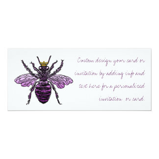 Carleigh's Queen Bee Invitations Announcements