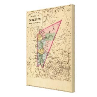 Carleton Co, NOTA Impresión En Lona Estirada