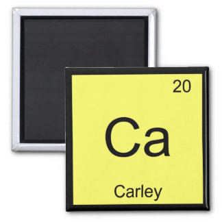 Carley Name Chemistry Element Periodic Table Magnet