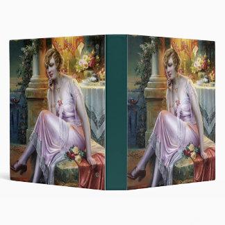 Carlier: Elegant Lady 3 Ring Binder